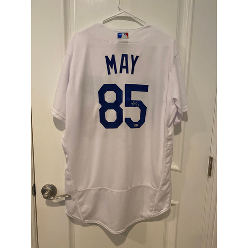 Dustin May Authentic Autographed Los Angeles Dodgers Jersey