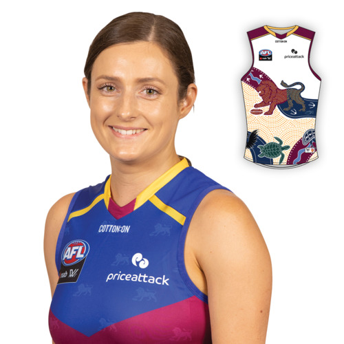 Photo of 2021 AFLW Indigenous Guernsey - Ruby Svarc