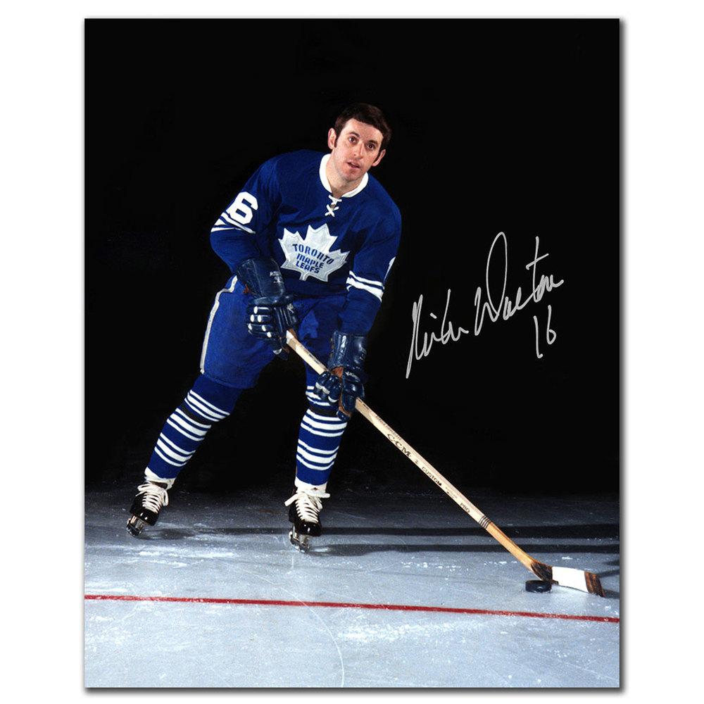 Mike Walton Toronto Maple Leafs Autographed 8x10