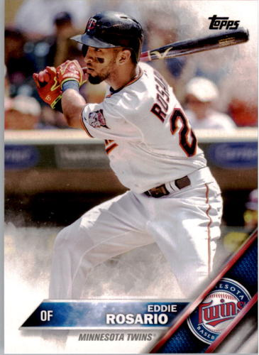 Photo of 2016 Topps #128 Eddie Rosario