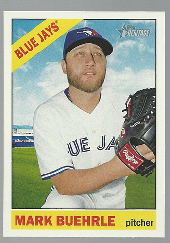 Photo of 2015 Topps Heritage #71 Mark Buehrle