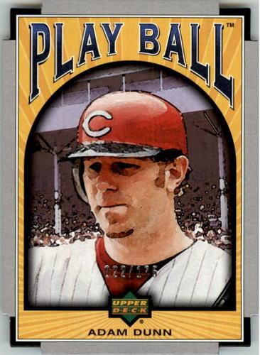 Photo of 2004 Upper Deck Play Ball Parallel 175 #47 Adam Dunn