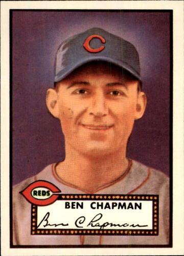 Photo of 1983 Topps 1952 Reprint #391 Ben Chapman UER CO/Photo actually/Sam Chapman