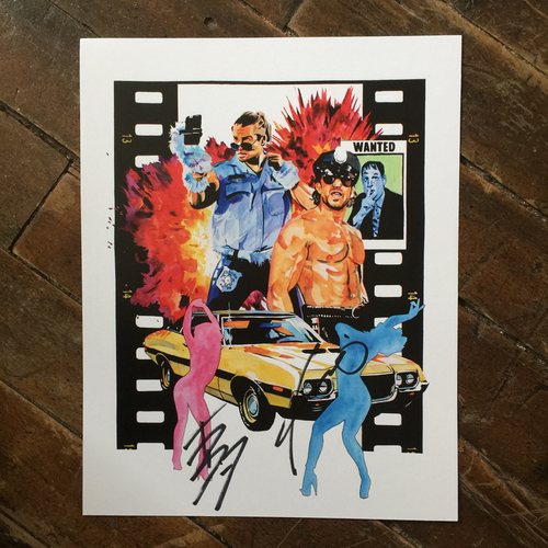 Photo of Breezango SIGNED 11 x 14 Rob Schamberger Print