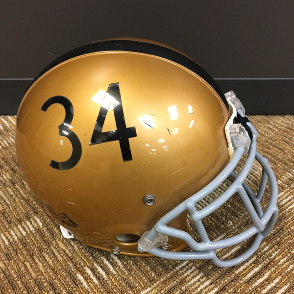 Photo of Throwback Purdue Football #34 Helmet