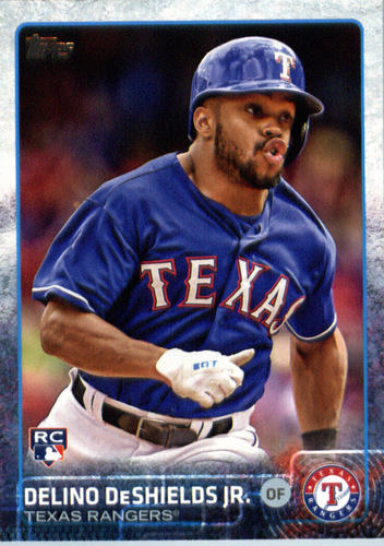Photo of 2015 Topps Update #US144 Delino DeShields Jr. RC