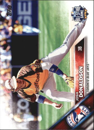 Photo of 2016 Topps Update #US79A Josh Donaldson AS