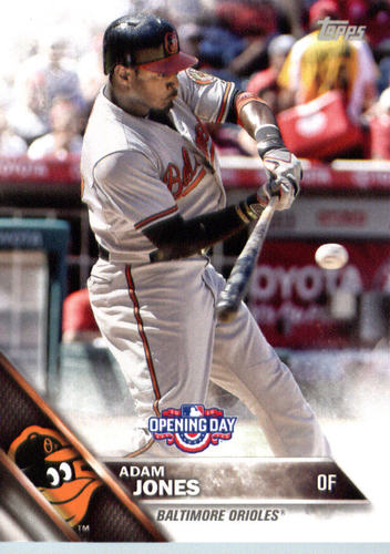 Photo of 2016 Topps Opening Day #OD76 Adam Jones