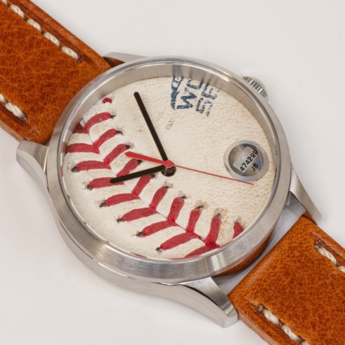 Photo of Tokens & Icons Boston Red Sox 2018 World Series Game-Used Baseball Watch - Game 5