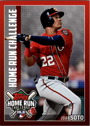 Photo of 2019 Topps Home Run Challenge #HRC35 Juan Soto