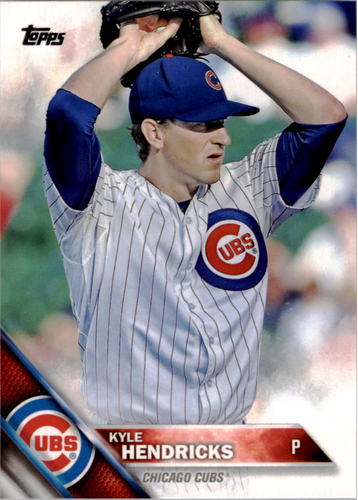 Photo of 2016 Topps #314 Kyle Hendricks