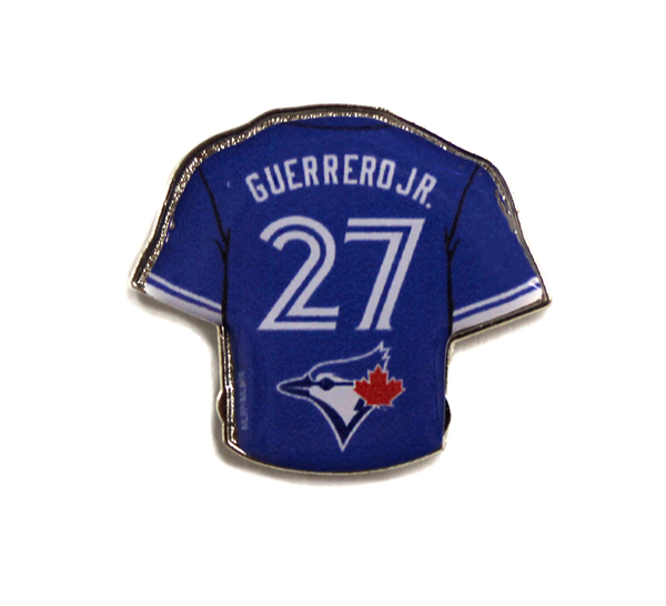 Toronto Blue Jays Guerrero Jr Royal Jersey Pin by Aminco