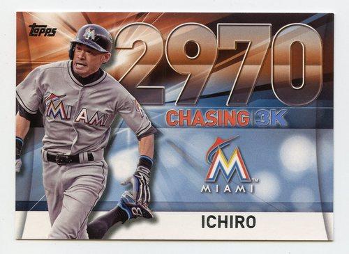 Photo of 2016 Topps Chasing 3000 #300044 Ichiro Suzuki