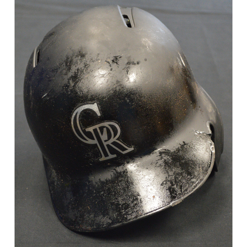 "Photo of Nolan ""Nado"" Arenado Colorado Rockies Game-Used 2019 Players' Weekend Helmet"