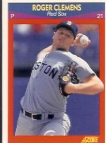 Photo of 1990 Score 100 Superstars #79 Roger Clemens