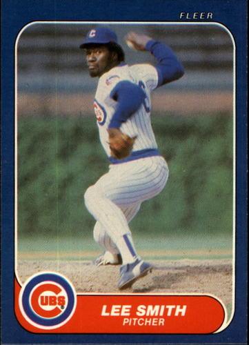 Photo of 1986 Fleer #380 Lee Smith