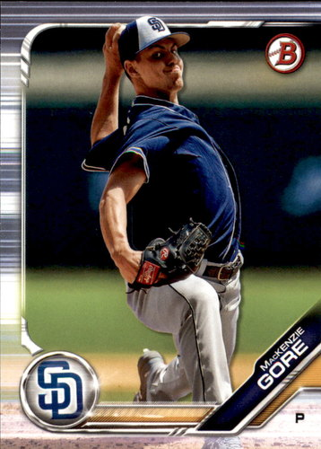 Photo of 2019 Bowman Draft #BD103 MacKenzie Gore
