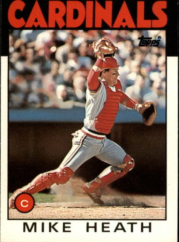 Photo of 1986 Topps Traded #46T Mike Heath