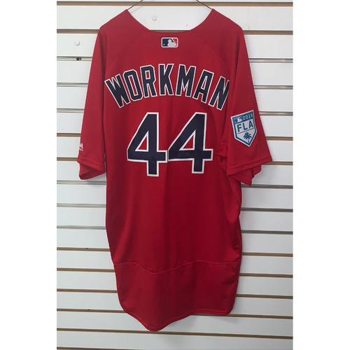 Photo of Brandon Workman Team Issued 2019 Spring Training Jersey