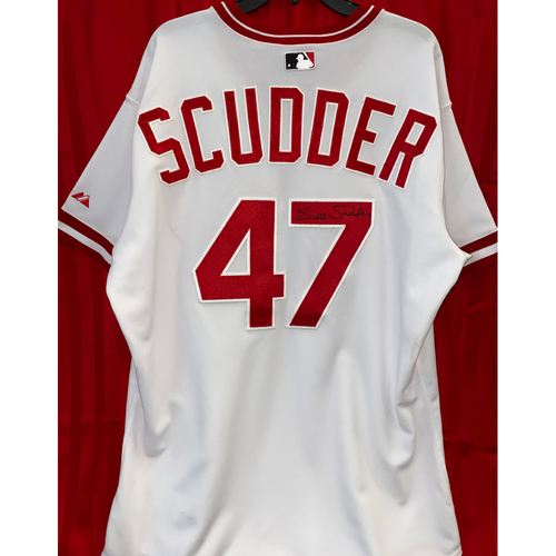 Photo of Scott Scudder Signed Jersey