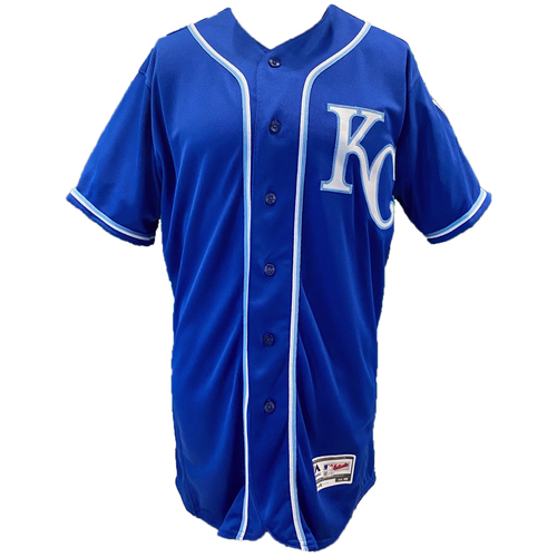 Photo of Kansas City Royals Team-Issued Majestic Jersey - Royal - Choose Your Size!