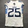 Crucial Catch - Titans Adoree' Jackson Signed Game Used Jersey (10/6/19) Size 38
