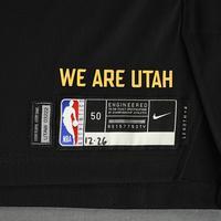 Donovan Mitchell - Utah Jazz - Game-Worn City Edition Jersey - Scored 21 Points - 2020-21 NBA Season