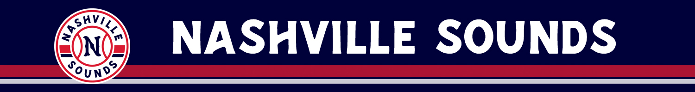 Nashville Sounds team banner