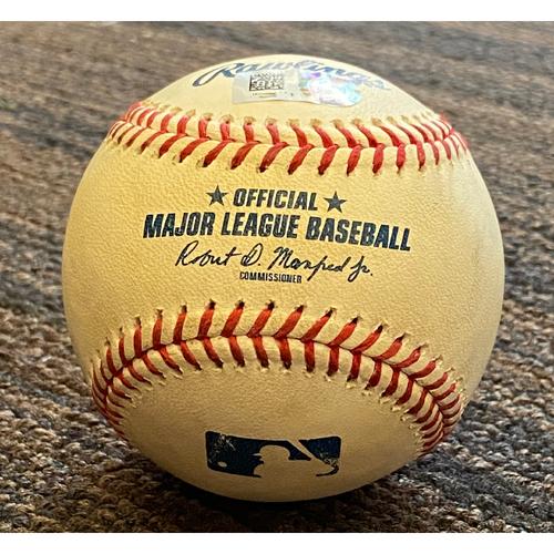 Trey Mancini: Baseball - Game Used (Home Run)