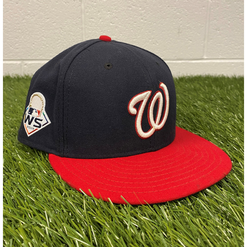 Photo of Daniel Hudson Game-Used 2019 World Series Hat