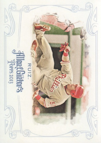 Photo of 2013 Topps Allen and Ginter #91 Carlos Ruiz