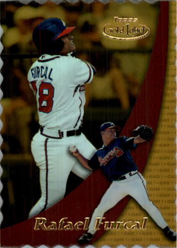 Photo of 2000 Topps Gold Label Class 1 Gold #27 Rafael Furcal