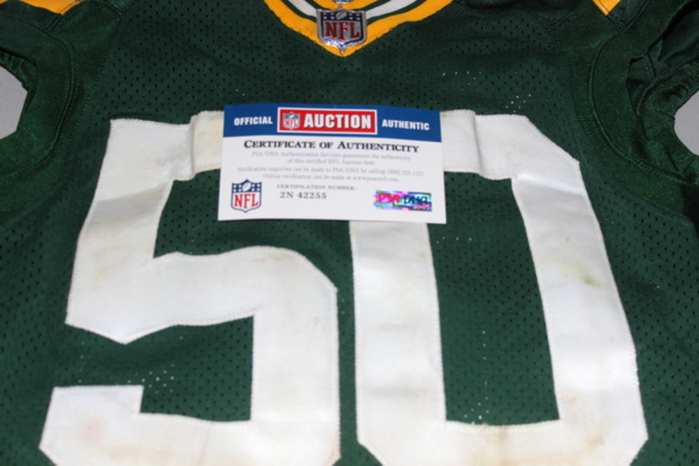 low priced bcf30 f03a1 NFL Auction | Crucial Catch - Packers Blake Martinez game ...