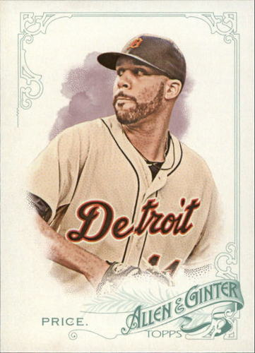 Photo of 2015 Topps Allen and Ginter #318 David Price