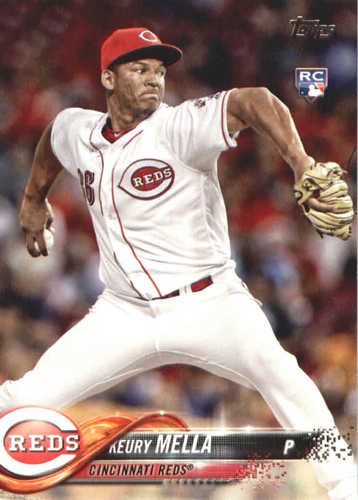 Photo of 2018 Topps #596 Keury Mella RC