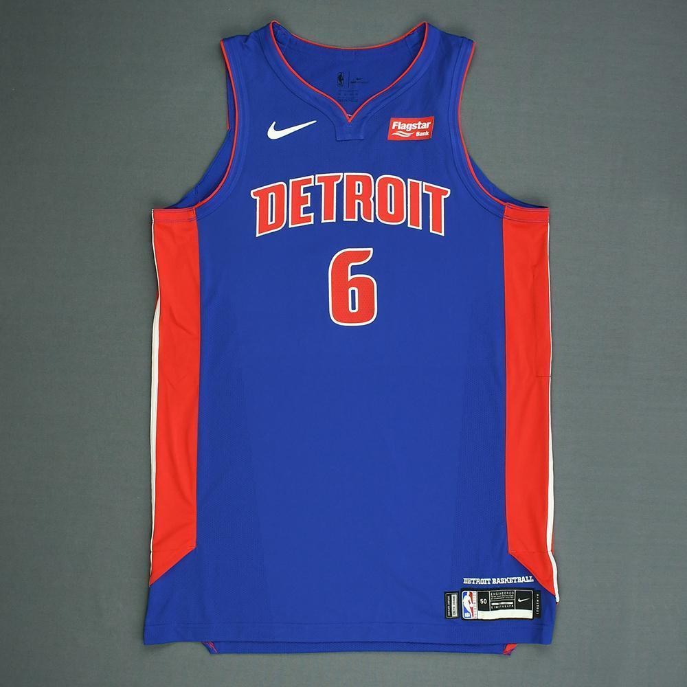Bruce Brown - Detroit Pistons - 2018 NBA Draft - Autographed Jersey
