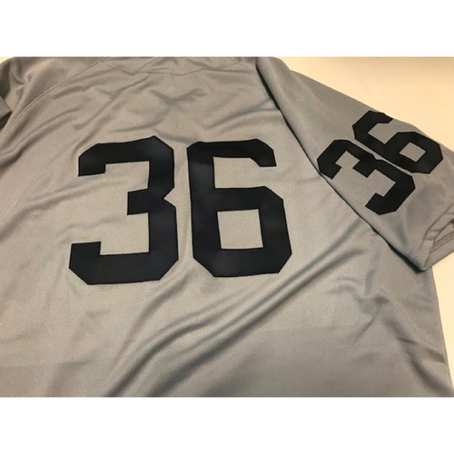 Photo of Team-Issued 1968 World Series 50th Anniversary Jersey: Blaine Hardy