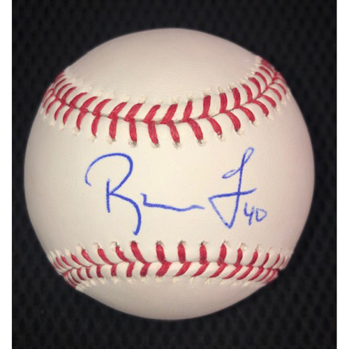 Photo of Reynaldo Lopez Autographed Baseball