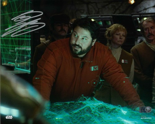 PREORDER Greg Grunberg As Snap Wexley 8x10 Autographed In Silver Ink Photo