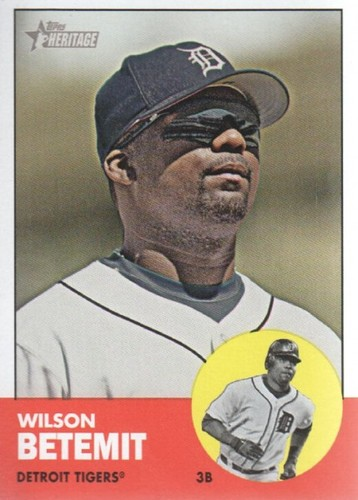 Photo of 2012 Topps Heritage #425 Wilson Betemit
