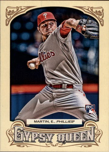 Photo of 2014 Topps Gypsy Queen #128 Ethan Martin RC