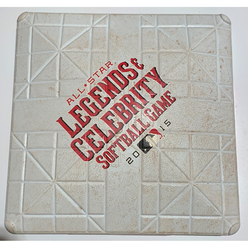 Photo of 2015 All-Star Legends & Celebrity Softball Game Used 2nd Base - July 12th