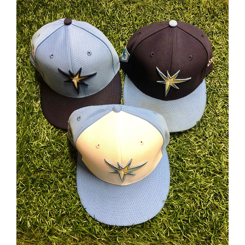Photo of 2019 Team Issued Spring Training Cap Package: Mike Zunino