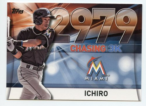 Photo of 2016 Topps Chasing 3000 #300049 Ichiro Suzuki