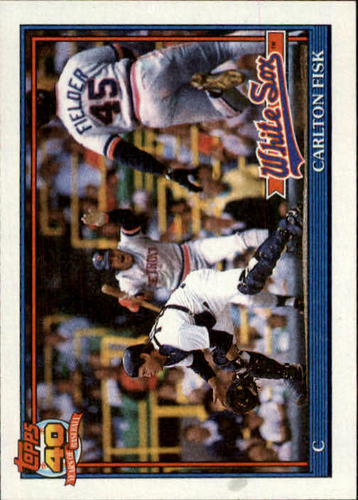 Photo of 1991 Topps #170 Carlton Fisk