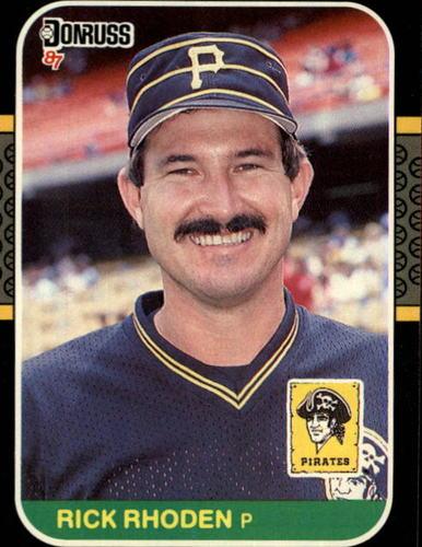 Photo of 1987 Donruss #435 Rick Rhoden