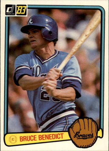 Photo of 1983 Donruss #299 Bruce Benedict