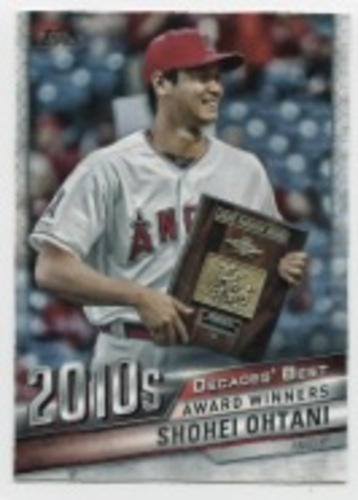 Photo of 2020 Topps Decades' Best #DB92 Shohei Ohtani