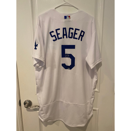 Corey Seager Authentic Autographed Los Angeles Dodgers Jersey