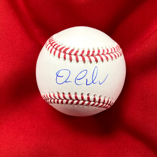 Photo of Dylan Carlson Autographed Baseball